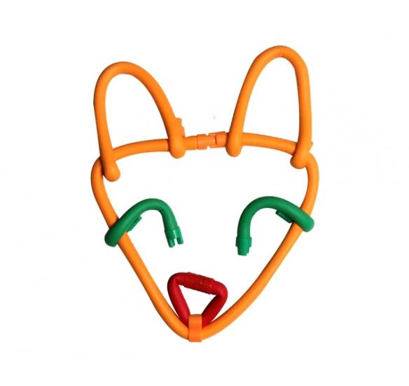 Поделка из Waveplay: лицо лисы
