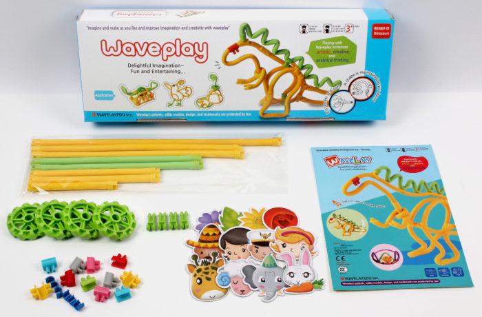 Набор конструктора Waveplay 10-A Toy set
