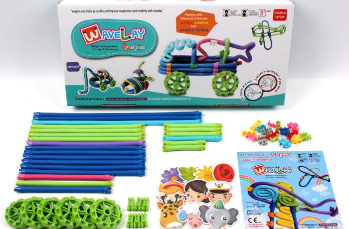 Набор конструктора Waveplay 20-A Toy set