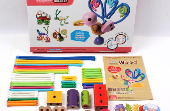 Набор конструктора Waveplay 50-D Toy set