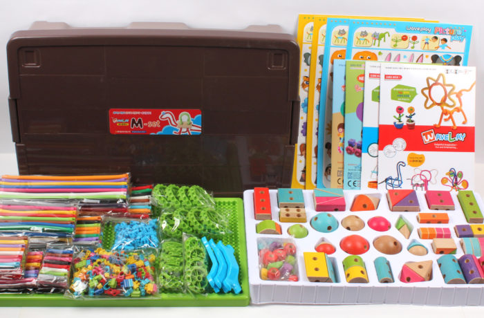 Набор конструктора Waveplay M Toy set