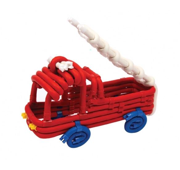 Поделка из Waveplay: пожарная машина