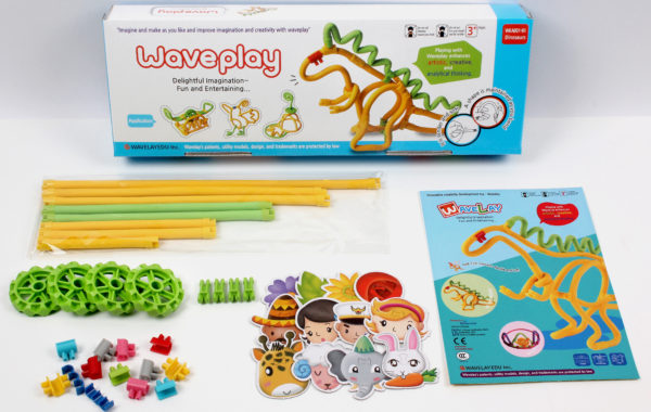 Набор конструктора Waveplay 10-A Toy set