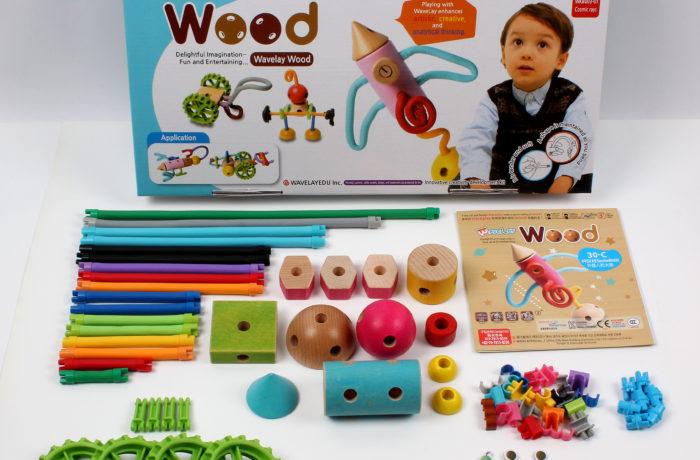 Набор конструктора Waveplay 30-C Toy set