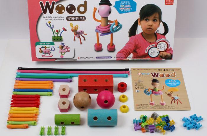 Набор конструктора Waveplay 30-D Toy set