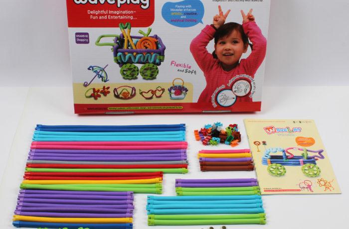 Набор конструктора Waveplay 50-B Toy set