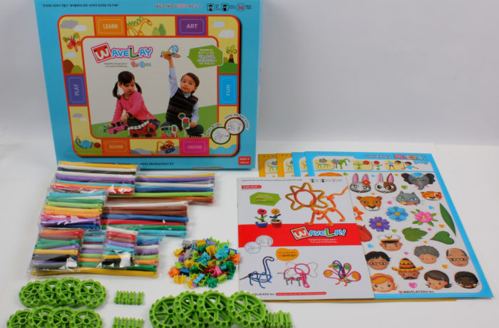 Набор конструктора Waveplay 70-A Toy set